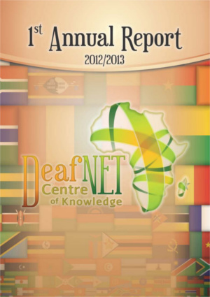 DeafNET Annual report 2012-2013