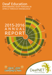 DeafNET 2016 Annual Report