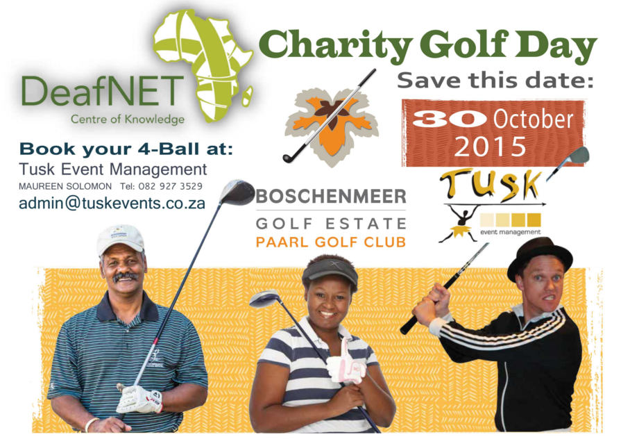 1st Annual Fundraising Golf Day