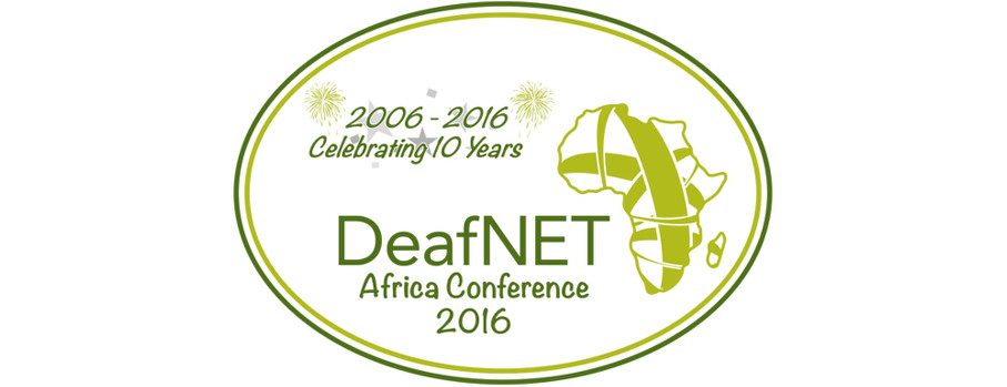 DeafNET Africa Conference 2016 – Save the date