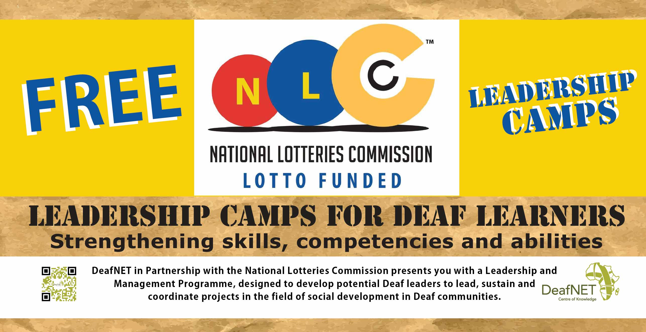 Leadership Camp for Deaf Learners